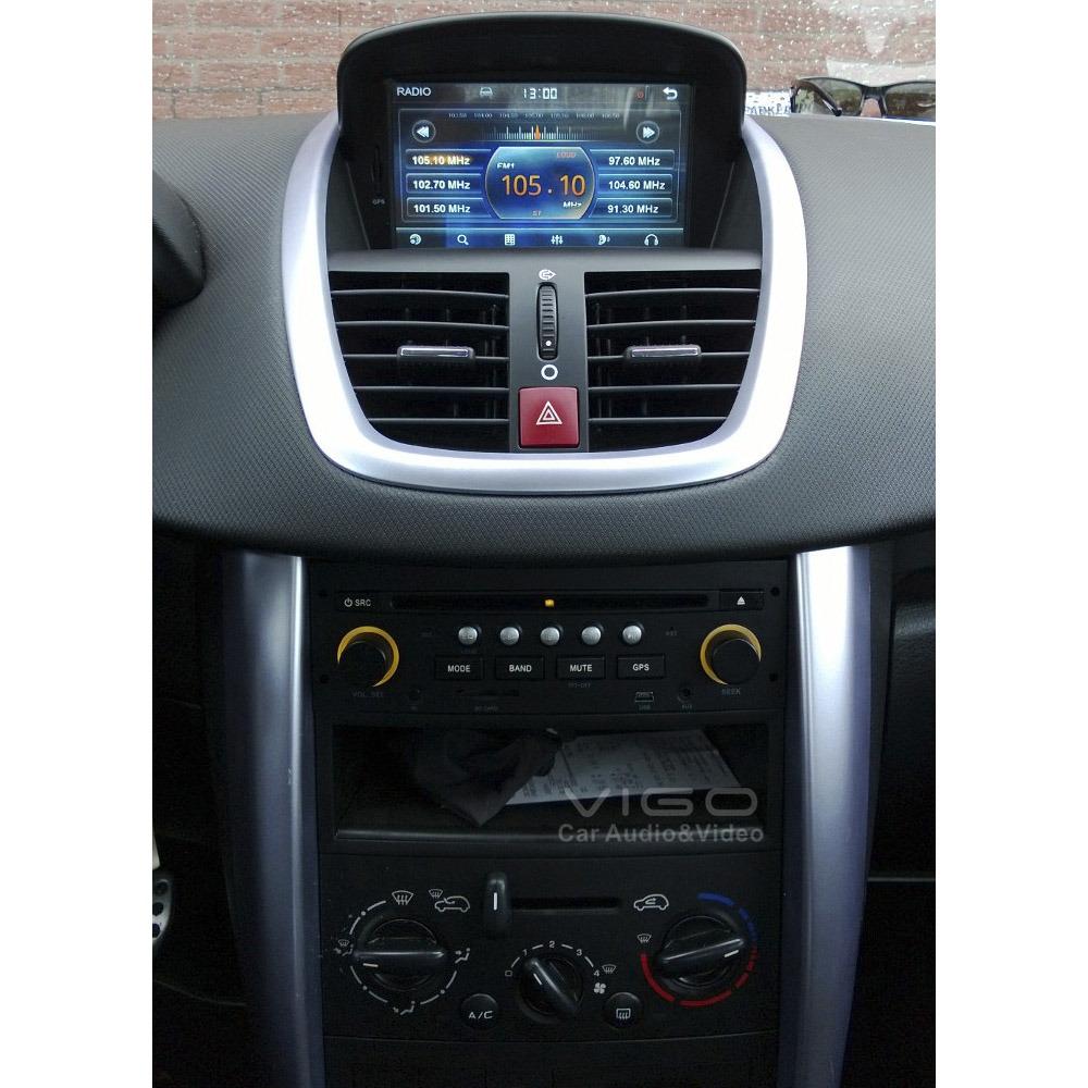 buy car stereo gps navigation for peugeot. Black Bedroom Furniture Sets. Home Design Ideas