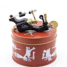 CNC Carved  Steel Rotary Tattoo Motor Machine Gun Liner Shader Purple(China (Mainland))