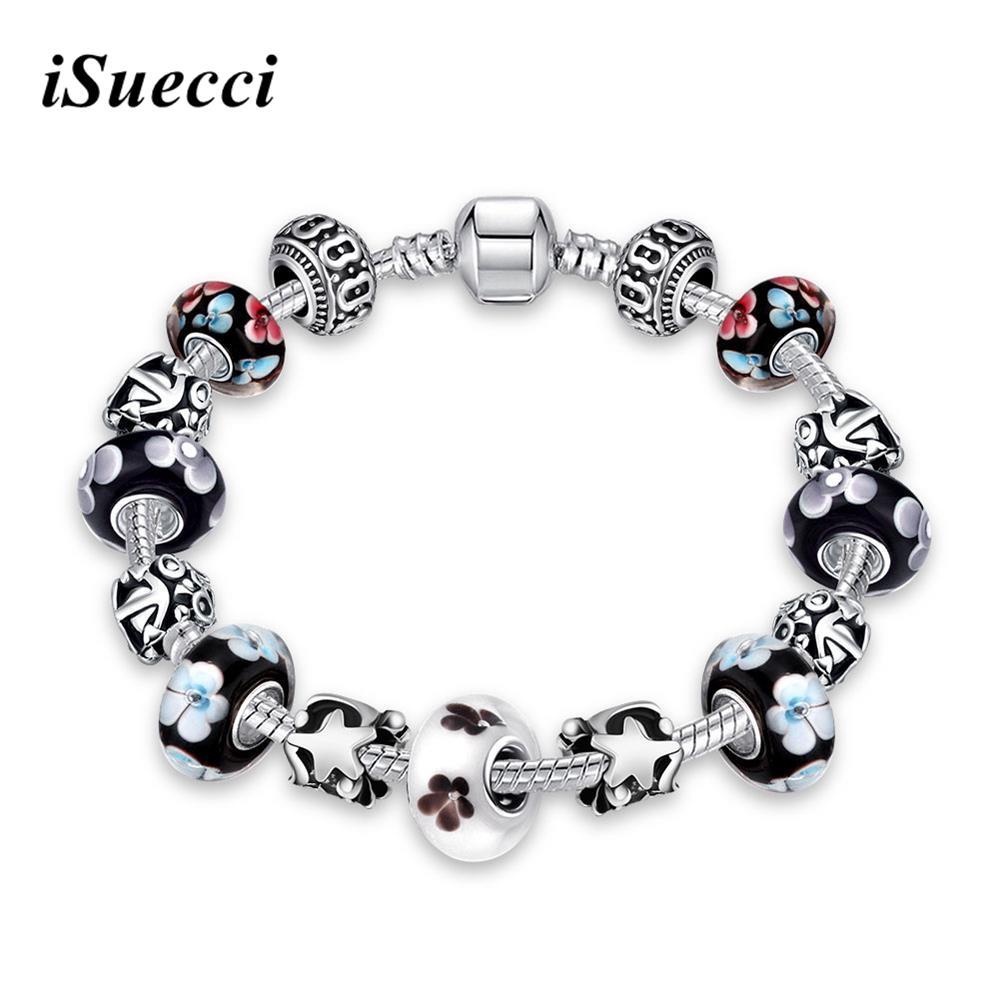 Sterling silver jewelry wholesale european charm beads fits bracelets