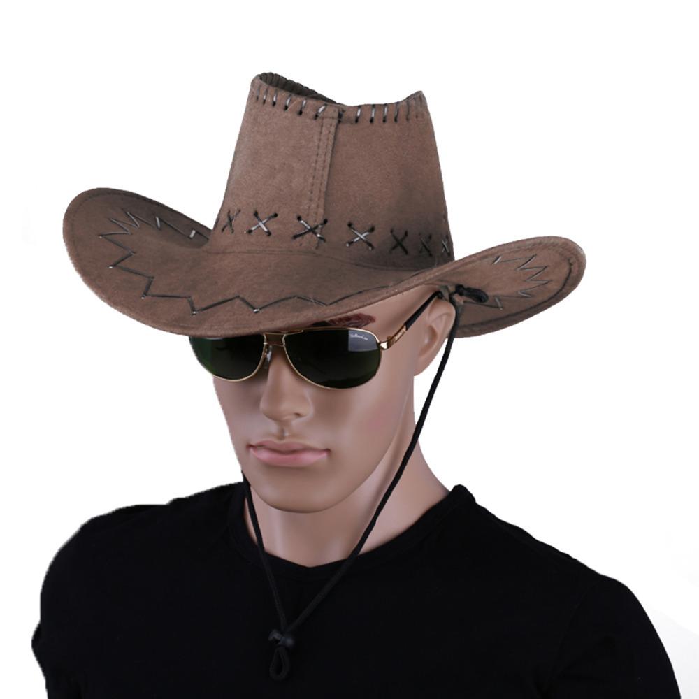 1pcs Dark Brown Western Cowboy Cowgirl Cattleman Hat For Kids Children Party(China (Mainland))