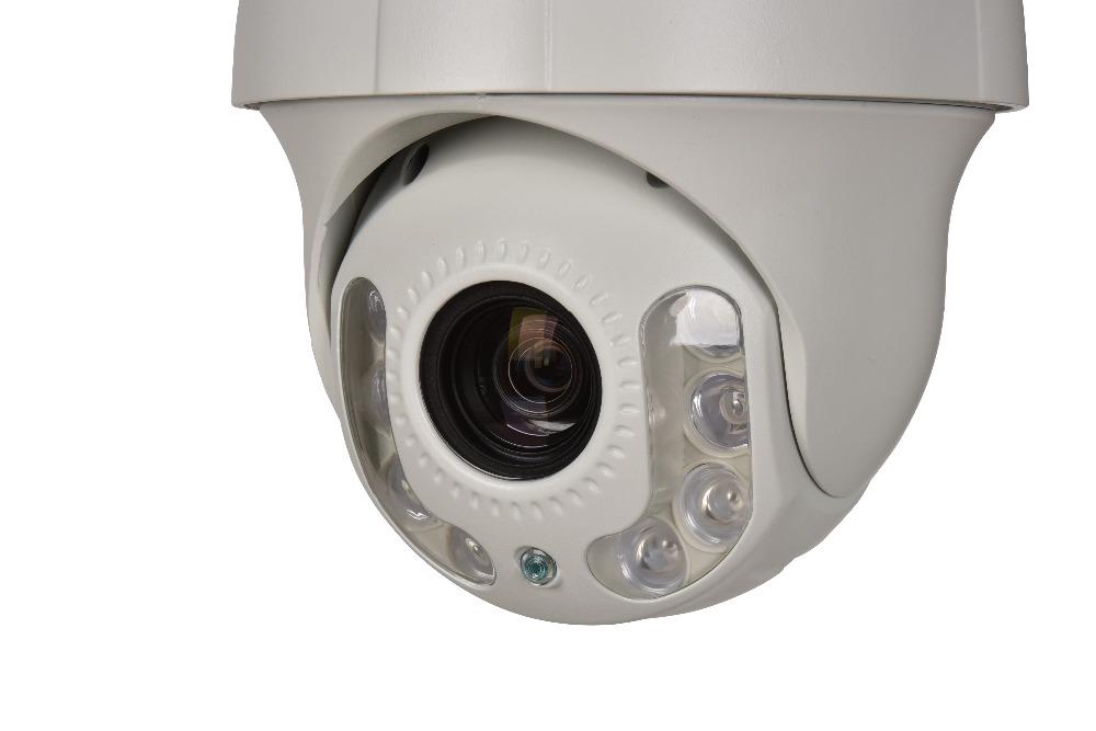 4.0MP H.265 HD MINI PTZ IP High Speed Dome Camera IP66 IR range 50M Network Onvif P2P Android IOS Nihgt Vision IR PTZ Camera(China (Mainland))