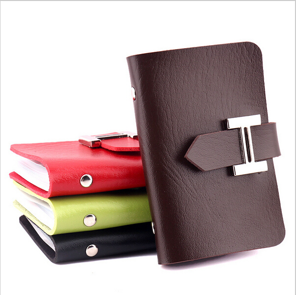 1pcs Mens Leather Credit Card Holder/Case Womens card holder wallet Business Card Package PU Leather Bag Card cover<br><br>Aliexpress