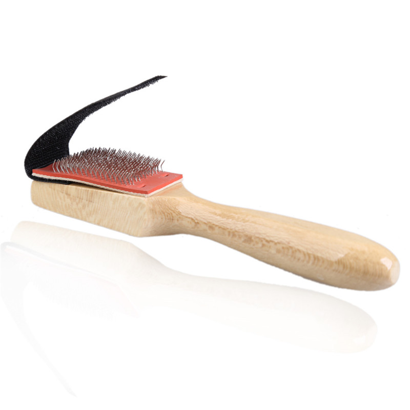 Men Women Durable Wood Suede Sole Wire Shoe Brush Cleaners Dance Shoes Cleaning Brushes(China (Mainland))