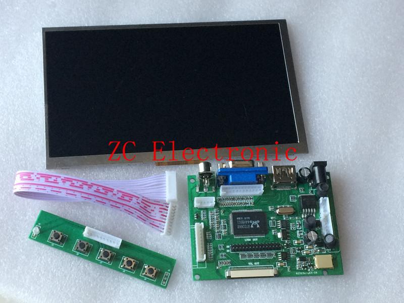 7 inch Raspberry Pi IPS LCD With HDMI VGA AV Screen Display Monitor Module For Pcduino Banana Pi 800x480 with keyboard plate(China (Mainland))