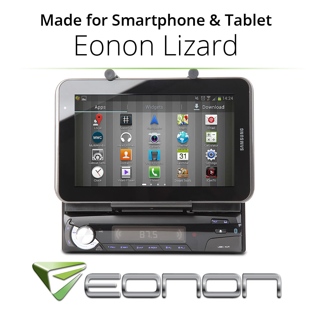 Eonon Lizard Car Stereo FM Radio Android App Control 1DIN Holder for Smartphone & Tablet M1003(China (Mainland))