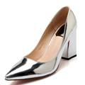 2016 factory shoe women pointed toe bottom high heel pump lady single Party career spring fall