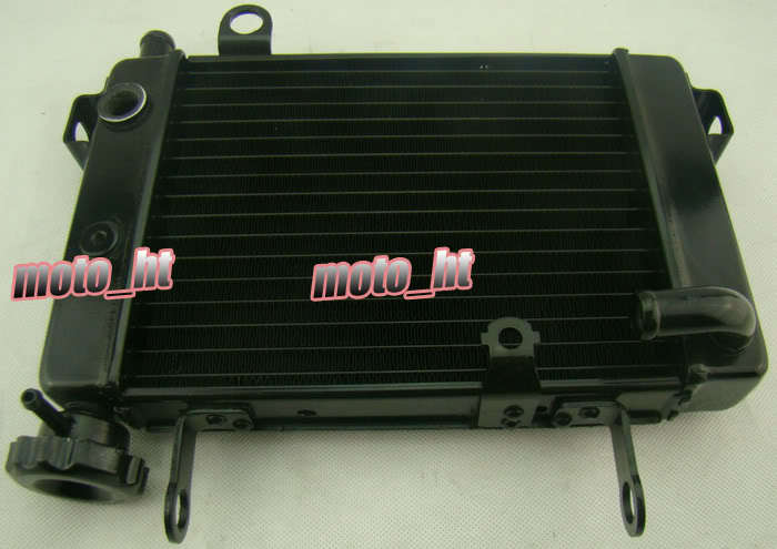 HONDA RVF400 NC35 NC30 VFR400 Motorcycle Low Aluminum Radiator Black Brand New - Online Store 737340 store