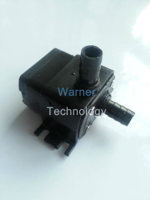 Mini Brushless DC submersible pump, Max head 3m, low noise, waterproof, fit for fountain, cooling, plumbing mattresses
