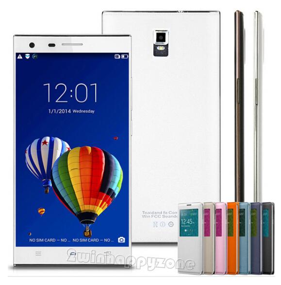 5.5'' QHD Android 4.4.2 Original Unlocked Smartphone GPS+3G+WCDMA+GSM Dual Sim MTK6572 Dual Core ROM 4GB Mobile phone Celular(China (Mainland))