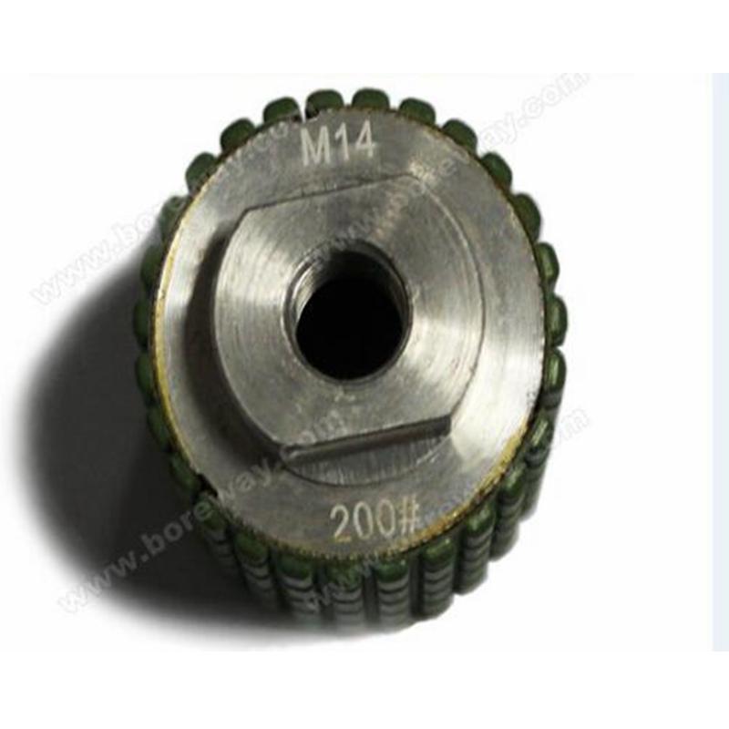 "Фотография Supply 2""xM14 Diamond Polishing Drum Wheel Resin Filled For Counter"