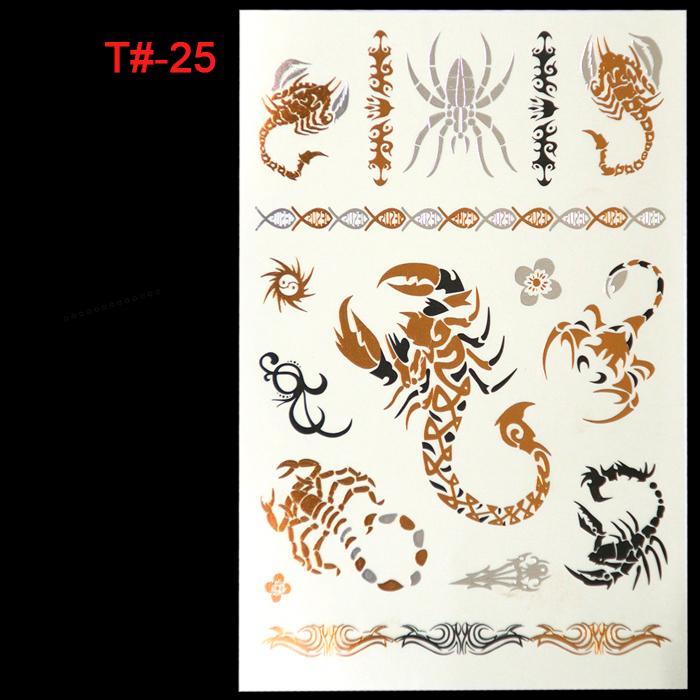 Waterproof Temporary Tattoo Stickers Wholesale Animal Creative Design(China (Mainland))
