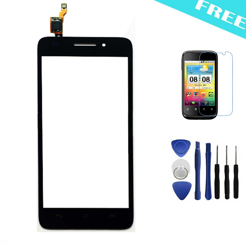 Huawei G620S G621 8817E 8817S New Original Touch Screen Panel Digitizer Glass Assembly Replacement Free Gifts - Black Xinghai store