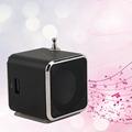 New Portable Micro TF USB Mini Speaker Music Player Portable FM Radio Stereo mp3 phone Laptop