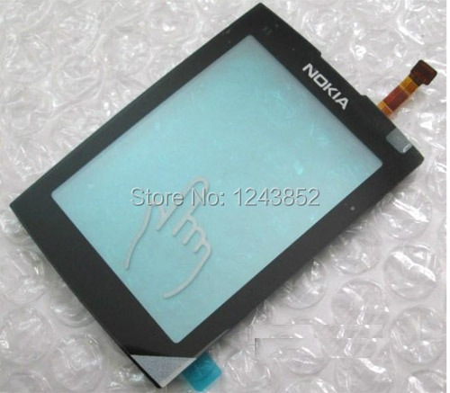 For Nokia X3 X3-02 02 BLACK New Touch Screen Digitizer Replacement Glass Free Shipping AIRMAIL + TOOLS