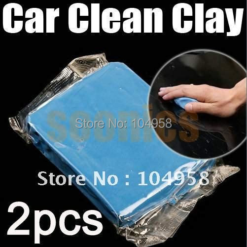 Blue Practical Magic Car Clean Clay Bar Auto Detailing Cleaner Cleaning Kit - BeyondTel Co., Ltd store