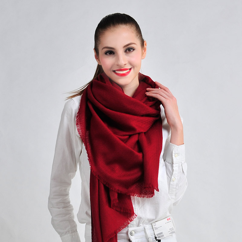 2014 100% wool women jacquard scarf spring autumn fashion magicaf cape multifunctional - Mayday Life store