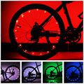 Universal Mountain Bicycle Wheel Tire Decoration LED Light Lamp String Bike Wheel Spoke LED Lamp Battery