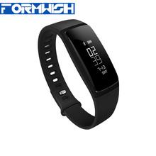 V07 Waterproof smart bracelet heart rate monitor message reminder wristband sleeping pedometer sports tracker blood pressure mon(China (Mainland))