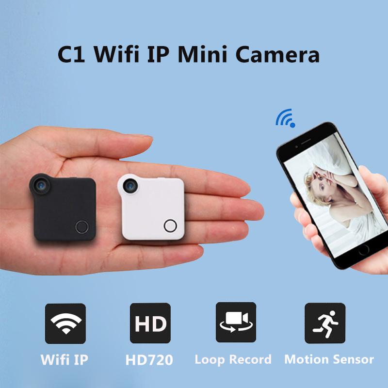 C1 Spied Camera Wifi P2P IP 720P H.264 HD Mini Camera Wireless Action Cam Bike Camera Mini DV DVR Camera Video Voice Recorder(China (Mainland))