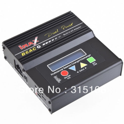 Free Shipping New IMAX B6AC Battery Charger LiPo Balance NiMH NiCd Great charger packed(China (Mainland))