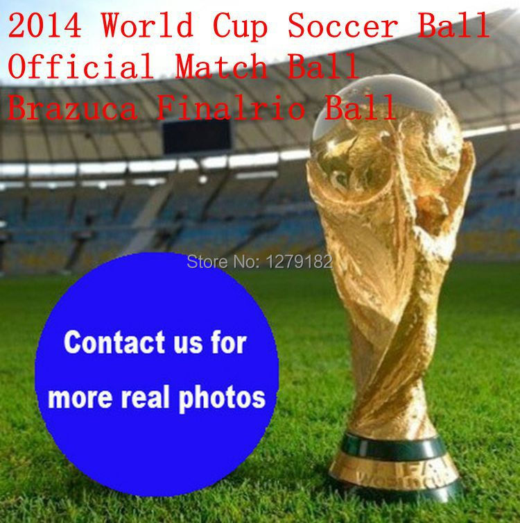 2014 Brazuca Finalrio Official Match Ball World Cup Soccer Ball Official Weight Size 5 Laminated TPU Smooth Surface Football(China (Mainland))