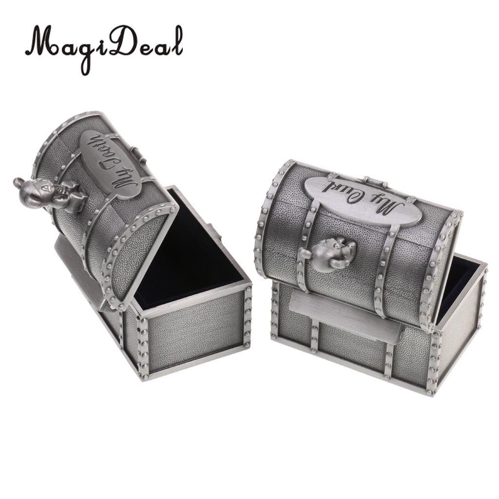 Alloy Bear My First Tooth Curl Save Box Cabinet Keepsake Birthday Gift Favor