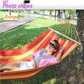 Stick cotton thickening widen hammock Indoor outdoor camping hammock Dormitory hammock 120kg bearing