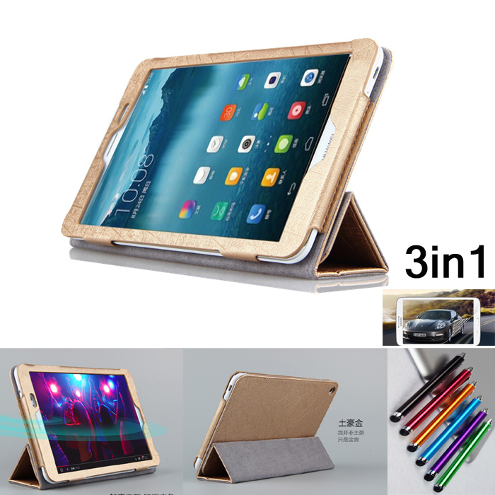 Fashion Flip Folding stand Case Cover For 8 inch HuaWei MediaPad T1 8.0 inch S8-701U S8-701W Tablet cases(China (Mainland))