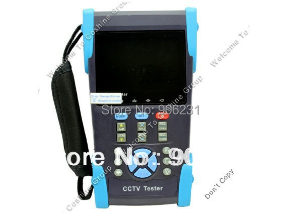 Free shipping!!Free 4GB +HVT-2601T CCTV PTZ Controller Camera Cable Tester UTP TDR DVR(China (Mainland))