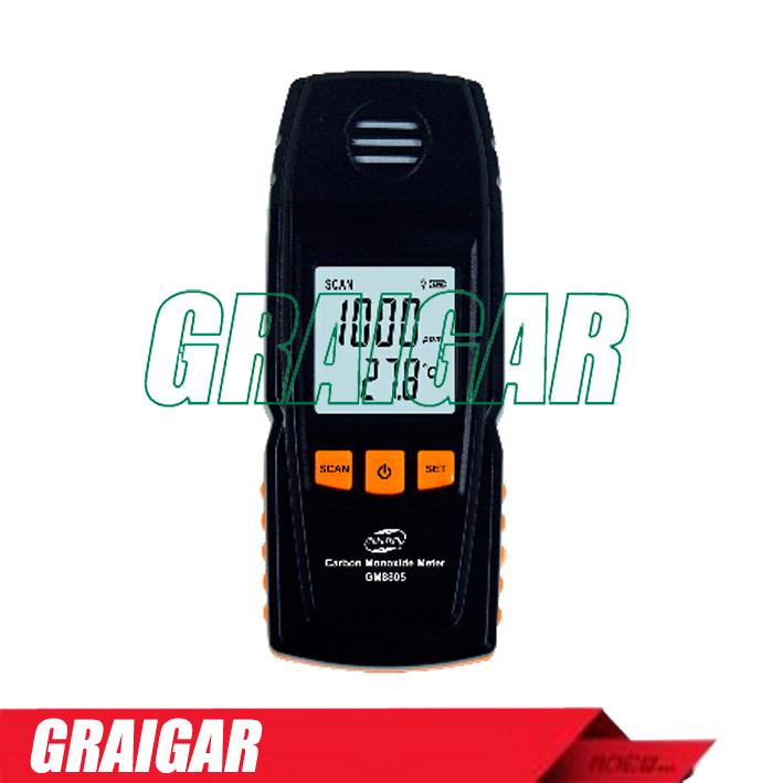 Carbon Monoxide Meter GM8805    Detection of gas: air, carbon monoxide Measuring range: 0 ~ 1000ppm