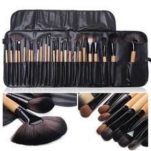Beauty Pro 24 Pcs Makeup Brushes Cosmetic Tool Eyeshadow Powder Make Up Brush Set Case pincel maquiagem  brochas maquillaje G#J6