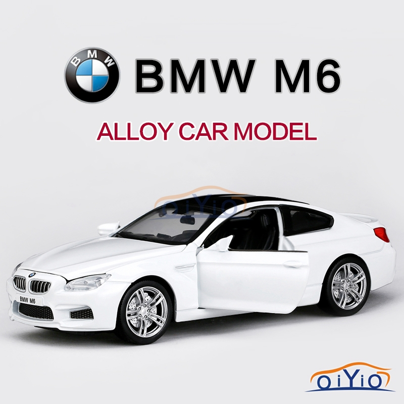 1:32 BMW M6 Car Models Alloy Diecast Vehicle Hotwheels Car Model Toys with Sound & Light WARRIOR Car Model Collection VB32093(China (Mainland))