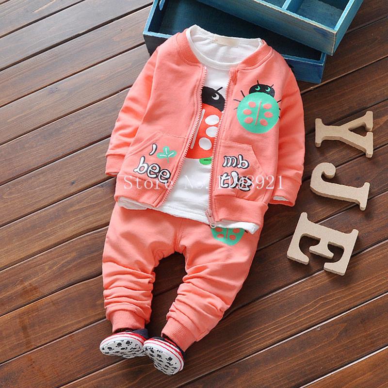 3PCS Kids Clothes Long Sleeve Cotton Character Zipper Coat +Shirt+Pants Sports Kids Suit Casual Unisex Kids Clothing Set <br><br>Aliexpress