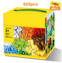 Free Shipping 3 Different Models 625 Pcs Building Blocks Mini Figure DIY Self-Locking Bricks Learn Education Best Tools For Kids(China (Mainland))