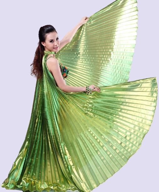 Luxurious Wings Oriental Dance Belly Dance Wings Belly Dance Fans Women Belly Stage Performance Accessories Wings Dancing(China (Mainland))