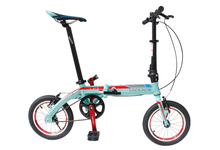 Free Shipping 14'' Inch Adult Mini Folding Bicycle/folding Bike the Special Gift/ Various Color /Portable Bike(China (Mainland))