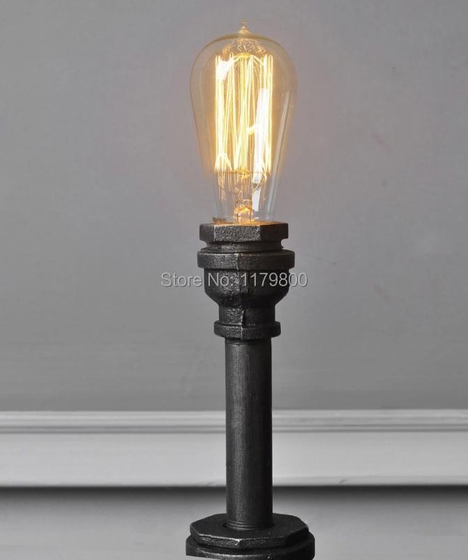 Acheter acier table de bureau lampe - Lampe de bureau style industriel ...