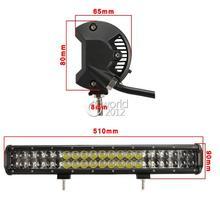 20 inch 210W for Philips LED Light Bar 12V Spot Flood Combo Beam Work Lights 4×4 Offroad Trailer Truck ATV Car LED Driving Light