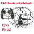 2015 Hot sale 3 5CH gyro wltoys RC Helicopter UFO Aircraft Remote Control helicoptero Flying Ball