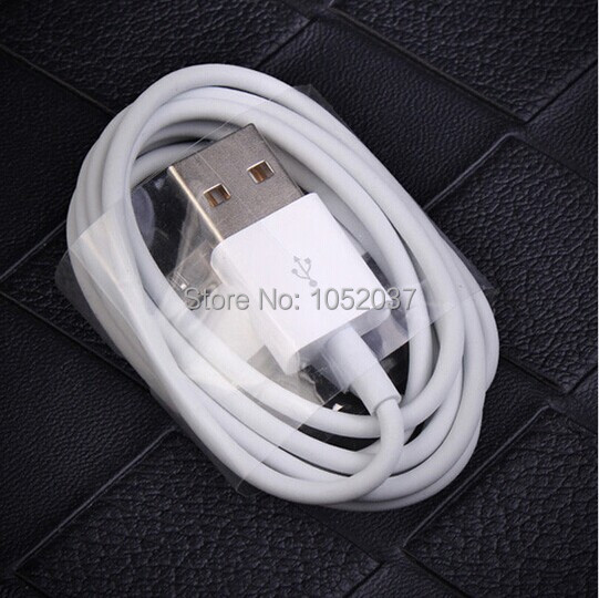 1pcs 30 Pin to USB Charger Cable Charging Data Sync Cord Line For Apple iPhone 4 4S 3GS New ipad 2 3 ipod touch 4th(China (Mainland))