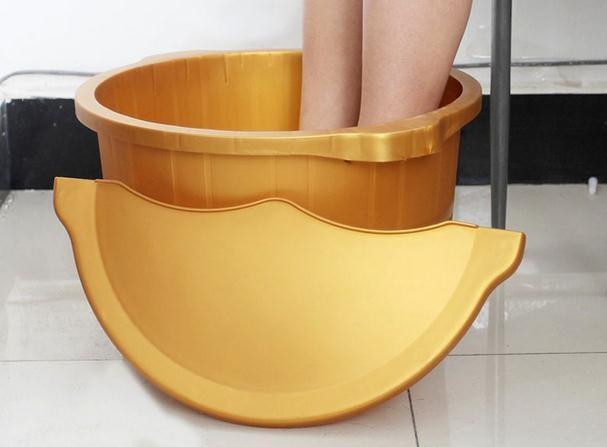 Bubble foot barrels of plastic zone of wash feet massage and lighter anti-throw barrels higher bubble bath bucket footbath