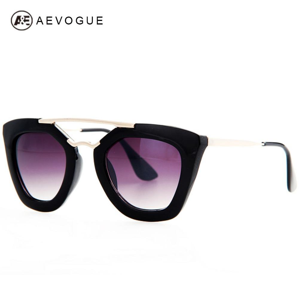 AEVOGUE Brand Design Butterfly Vintage Eyewear Sunglasses Women Most Popular Good Quality Sun Glasse