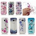 For Samsung galaxy S7 edge Case S7 Flower Capa For S6 Samsung galaxy S6 edge Case
