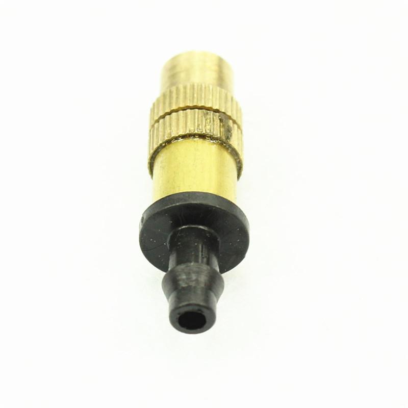 Free ships pcs pack new brass mist nozzle sprinkler