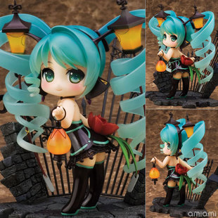 J.G Chen Anime Vocaloid Hatsune Miku Lamp feat. Nekozakana AlphaMax PVC Action Figure Model Collection Toy New box 12CM - J Ghee Store store