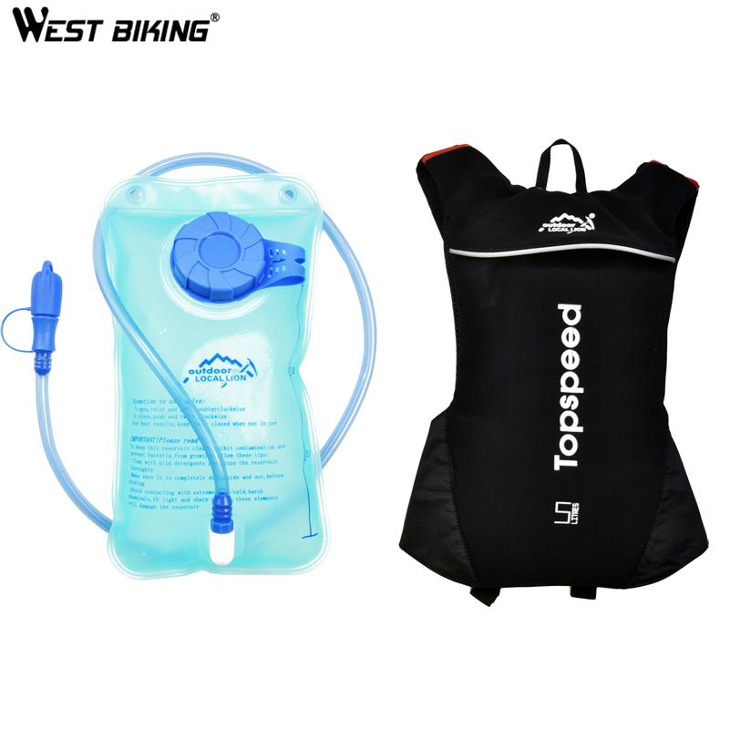 2016 5L Bicycle Bag + 1.5L TPU Water Bag Outdoor Light Weight Sport Bladder Hydration Bike Bags Cycling Bag Sacoche Velo Black(China (Mainland))