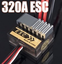320A ESC Brushed Electric Speed Controller Brush ESC 4.8-7.4V 1/8 1/10 Truck Buggy  FOR HSP 1/10 Exceed AMAX HIMOTO(China (Mainland))