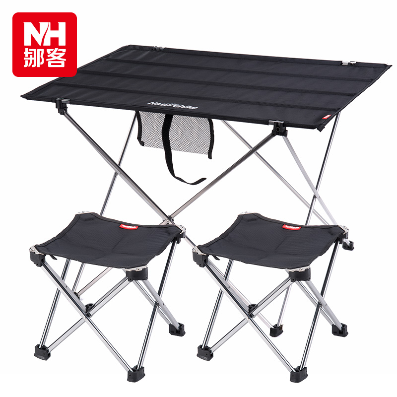 2015 fashion portable folding the picnic outdoor camping - Camping picnic table and chairs ...