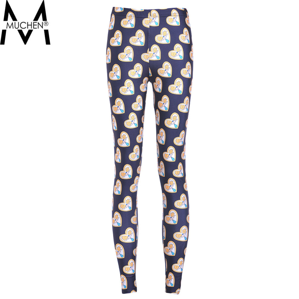 MUCHEN Hot Sale 2015 Women Leggings Special Digital Print Heart Cartoon Character Fitness Sexy LEGGING Drop Shipping S106-767Одежда и ак�е��уары<br><br><br>Aliexpress