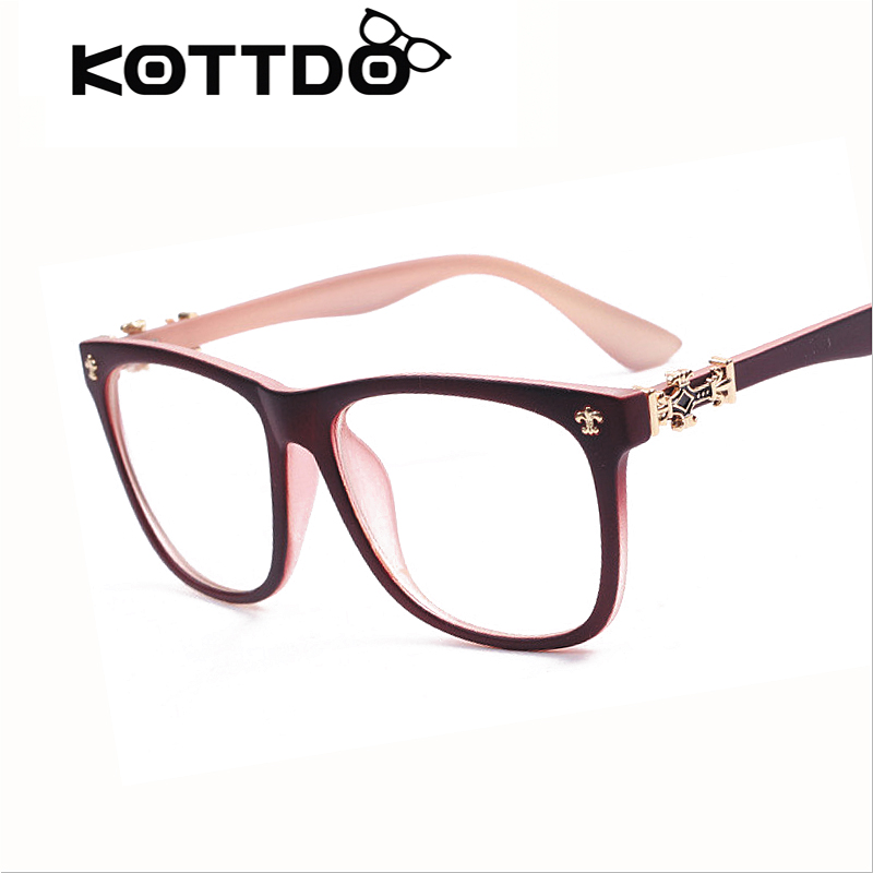 Eyeglass Frames Vintage : Aliexpress.com : Buy Vintage Eyeglasses Men Women ...